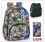Crash kisebb méretű iskolai hátizsák