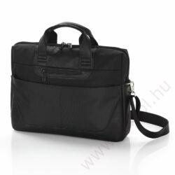 Activity irat és laptortartó táska fekete színben