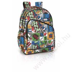 Crash iskolai hátizsák