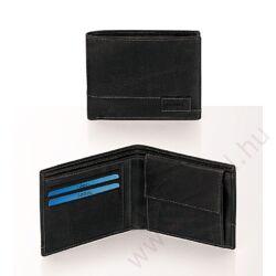Gabol Nuage bőr pénztárca fekete színben