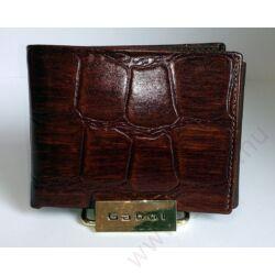 Gabol Sicilia bőr pénztárca fekete színben