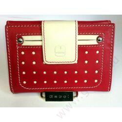 Gabol Pompeya bőr pénztárca piros színben