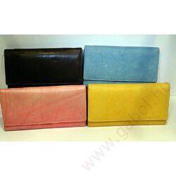 Gabol Ula bőr pénztárca sárga színben