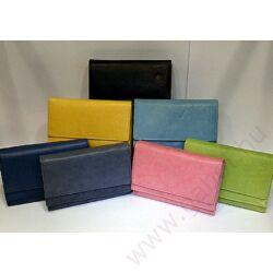 Gabol Ula bőr pénztárca sötétkék színben