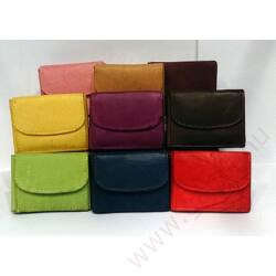 Gabol Ula bőr pénztárca kiwizöld színben