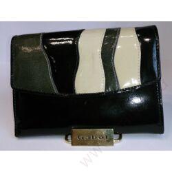 Gabol Génova női bőr pénztárca fekete színben