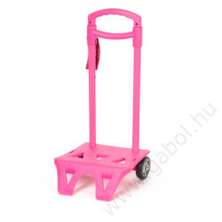 Húzókocsi pink színben
