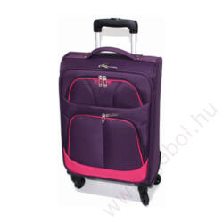 Etna bőrönd kabinméret lila színben
