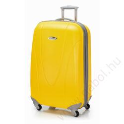 Superlight bőrönd közepes méret piros színben