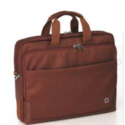 Solid irattartó táska és laptoptartó fekete színben