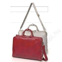 Napoles irattartó táska és laptoptartó táska pink színben