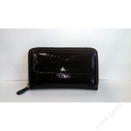 Gabol Pergamo női bőr pénztárca fekete színben - Bőr pénztárca ... 29dfaf328f