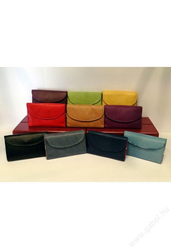 Gabol Ula bőr pénztárca szürke színben