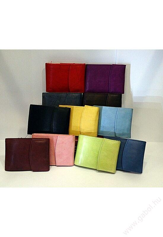 Gabol Ula bőr pénztárca piros színben