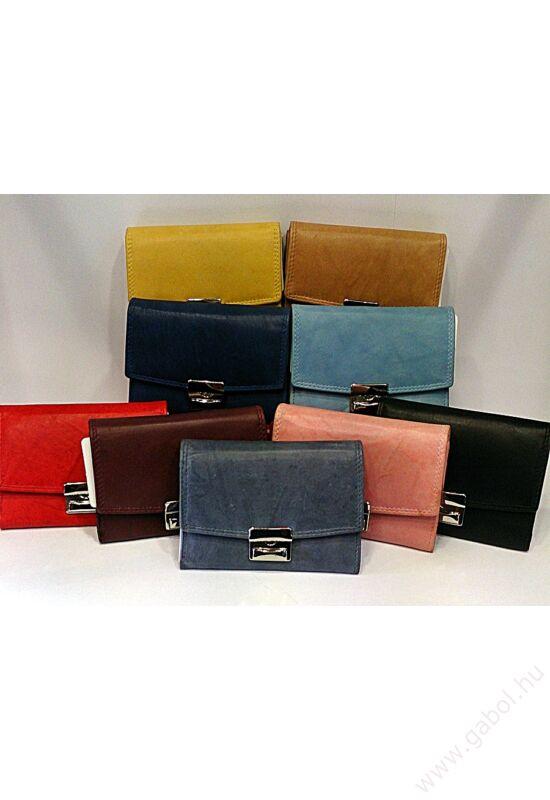 Gabol Ula bőr pénztárca bordó színben