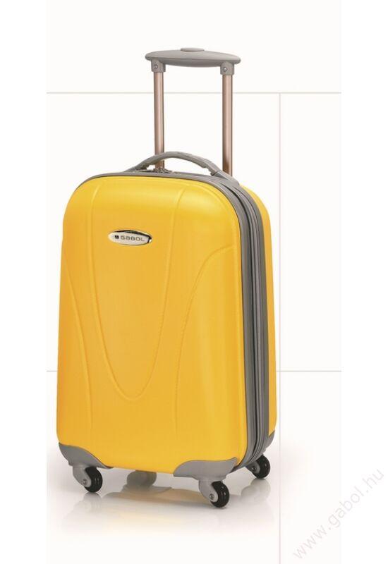 Superlight bőrönd kabin méret világoskék színben