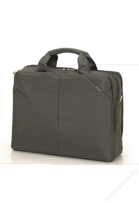 Iron irattarto és laptortartó táska sötétszürke színben