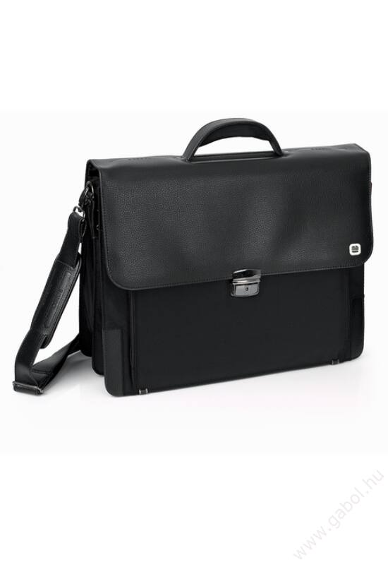 Bio irattartó táska és laptoptáska csokoládébarna színben