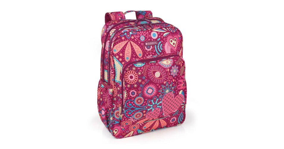 b7c7a6d481e1 Gabol Lucky Iskolai hátizsák - Iskolai hátizsák lányoknak - Gabol Táska -  Bőrönd, utazótáska - Iskolatáska, hátizsák - Női táska, Férfi válltáska -  Laptop ...